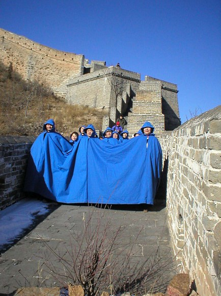 Blue Cape in China - Nicola L